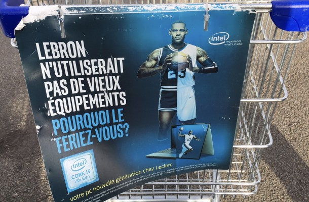 LeBron James - Intel