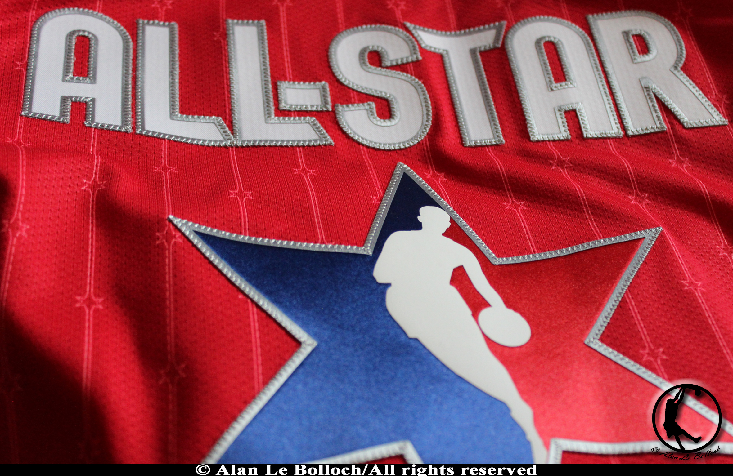 maillot NBA All-Star rouge